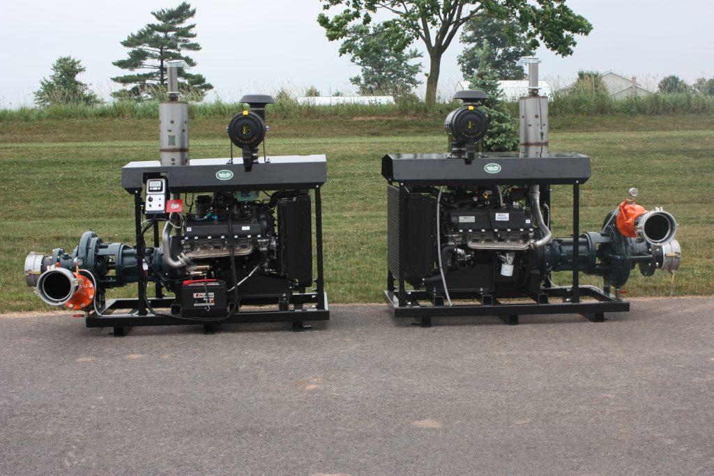 Large portable pumps rain flo irrigation for Diesel irrigation motors for sale