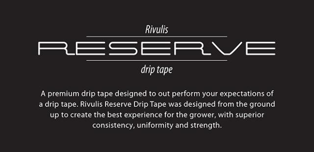 Reserve Tape